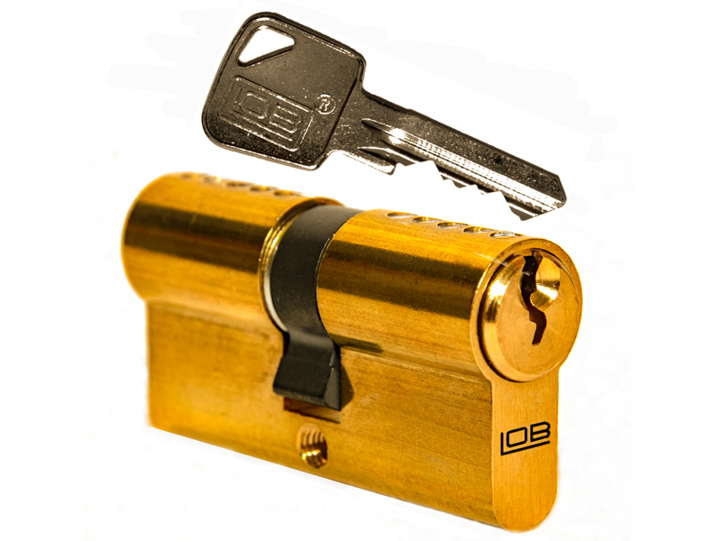 LOB Wkładka bębenkowa 30/30 3kl.na jeden klucz